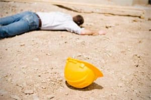 A person that needs a construction accident lawyer in Midtown, NY